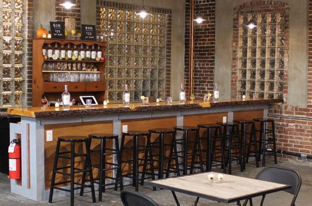 The bar at Short Path.
